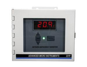Model 221R Oxygen (O2) Deficiency Monitor
