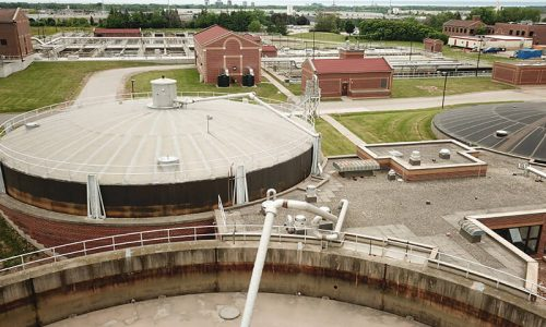 Biogas From Sewage Treatment Facility