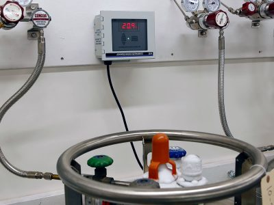 Oxygen Deficiency Monitoring in Lab